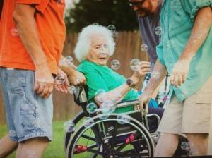 Off-roading with Grandma!